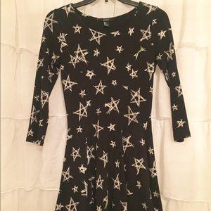 Star patterned dress